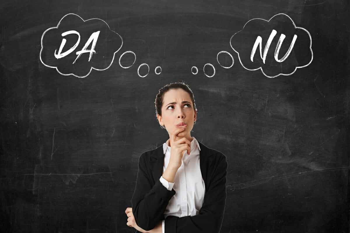 DA si NU intr-o negociere. Cum abordezi un refuz ca agent imobiliar?